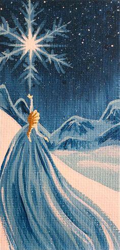 Elsa, from the Disney movie 'Frozen.' - Custom Disney Princess Canvas, by SavannaRodriguez on Etsy. Disney Pixar, Disney And Dreamworks, Disney Frozen, Disney Movies, Disney Characters, Frozen Art, Disney Princesses, Frozen 2013, Punk Disney