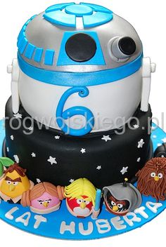 Angry Birds Star Wars cake |  tort Angry Birds star Wars