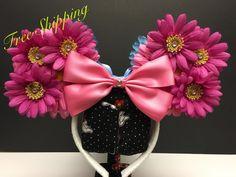 Sleeping Beauty Inspired Ear Headband by FloraFaunaAndME on Etsy