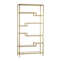 Sterling Gold And Mirrored Shelving Unit 351-10209 - Sterling Gold And Mirrored Shelving Unit 351-10209SKU: 351-10209Manufacturerr: SterlingMaterial: Metal,GlassFinish: Gold,MirrorItem Class: FurnitureItem Type: ShelfUPC: 843558138456Minimum Quantity: 1Country Of Manufacturer: ChinaCarton Dimensions: 13W x 37D x 75.6H Inches, Weight: 71.3LbsDimensions 1: 36W x 12D x 74H Inches, Weight: 59.4Lbs