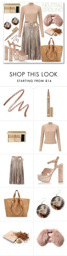 """""""Neutrals"""" by ludmyla-stoyan ❤ liked on Polyvore featuring Laura Mercier, Miss Selfridge, Valentino, River Island, Mary Kay, Steffen Schraut and neutrals"""
