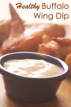 Healthy Buffalo Wing Dip Recipe (dairy-free and gluten-free)