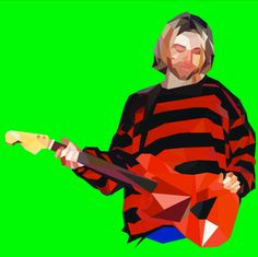 Kurt Cobain for Elle Men Thailand Zero Issue  Illustration by ANMOM's Warehouse https://www.facebook.com/anmomillustration