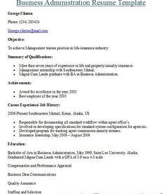 Job Resume (jobresumes) on Pinterest