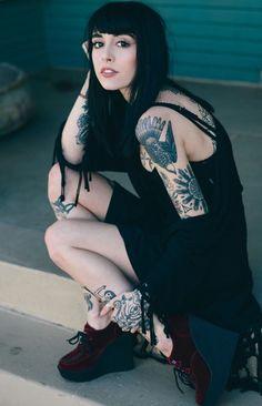 .  https://www.facebook.com/Tattooed-Hotties-232615227295938/ #tattooed #tattoos #sexy #hottie #hot #bodyart