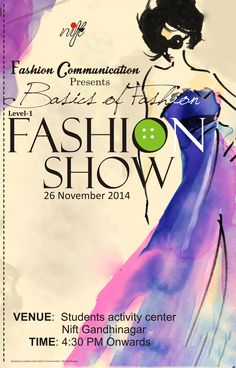 Fashion Basics – FASHION SHOW POSTERS. | Freeda Creations