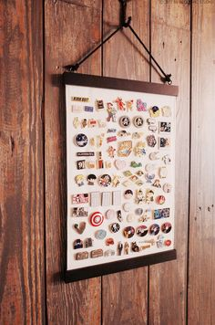 This item is unavailable Pin Collection Displays, Disney Pin Display, Plain Canvas, Wall Banner, Diy Pins, Pin And Patches, Displaying Collections, Pin Badges, Diy Crafts