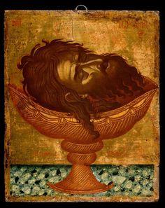 Byzantine Icons, Byzantine Art, John The Baptist, Orthodox Icons, Sacred Art, Christian Art, Fresco, Vignettes, Egyptian