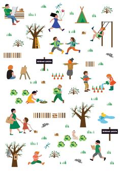 Gorky Park Summer Illustration on Behance