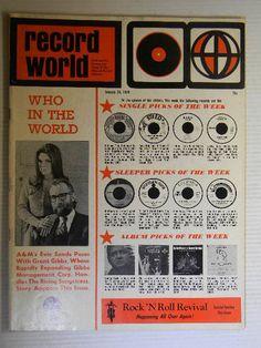 Record World Magazine January 24 1970