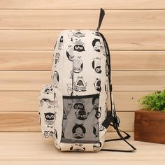 2014 New kpop women owl backpack,canvas printing cute backpacks high school,korean rucksack backpack,school bags for women D4-inCasual Daypacks from Luggage & Bags on Aliexpress.com | Alibaba Group