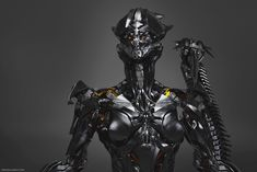 Art of Vitaly Bulgarov What would cybernetic goddess look like pt1