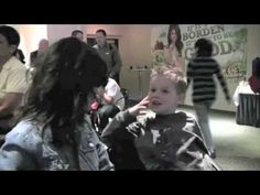 I was at the Houston Rodeo Show and did a private meet and greet for Borden's and came across the cutest little boy. Houston Rodeo, Cute Little Boys, Selena Gomez, Youtube, Cute Boys, Youtubers, Youtube Movies