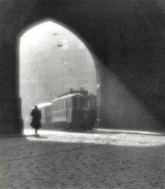 The Morning Tram..Josef Sudek..1924.