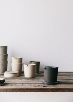 Table scenes with inspired handmade ceramics.
