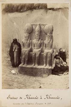 1866-1867 - Statues de Rhamsès à Rhamsès ; © Musée national de la Marine ; © Patrick Dantec