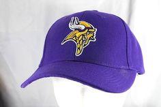 Minnesota Viking Purple NFL Baseball Cap Adjustable  NFLTeamApparrel   BaseballCap Minnesota Vikings f416f5cf9