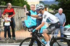 Vasil Kiryienka of Belarus and Team Sky / Feed Zone / Public / Fans / Children / during the 58th Vuelta Pais Vasco 2018, Stage 2 a 166,7 stage from Zarautz to Bermeo on April 3, 2018 in Bermeo, Spain.