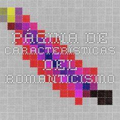 Página de características del Romanticismo