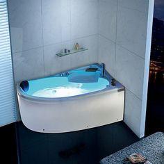 Indoor whirlpool 2 personen  Details zu Cleopatra Whirlpool Raumsparwanne Monola 700 L/R mit ...