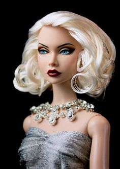 Fashion Royalty Poppy Parker Repaint   Flickr - Photo Sharing!