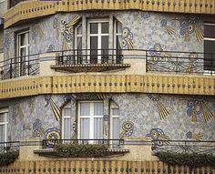 Odorico. Rennes, France. Art Nouveau, Art Deco Bathroom, Loire, France Travel, Art Deco Fashion, Architecture, Carbon Fiber, Amazing Art, Interior And Exterior