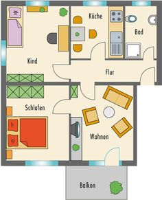wohnung grundrisse on Pinterest