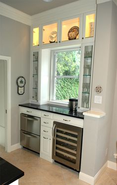 1000 images about kitchen bar cabinet ideas on pinterest for Convert kitchen desk to pantry