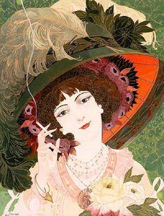 Georges de Feure (1868-1943) French Art Nouveau Painter ~