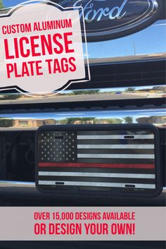 Novelty license plate Patriotic Remembering Our Heroes New Aluminum Auto Tags