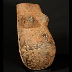 Makonde Body Mask : Collected by Jean Pierre Hallet