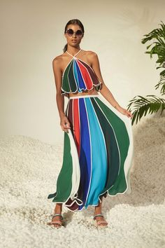 Rosie Assoulin Spring 2017 Ready-to-Wear Fashion Show: Colours of the rainbow ❤️❤️❤️