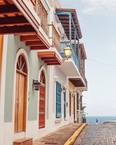 From our travels. The amazing colors of Old San Juan, PR #sunandwaves
