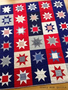 crazy mom quilts: made in America