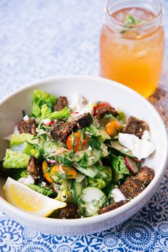 Summer Menu at Le Pain Quotidien : Lebanese Chopped Salad