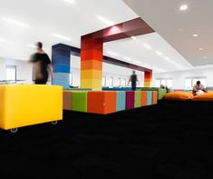 Two Studio and UFM Solutions designed this Learning Centre at Marian College Sydney