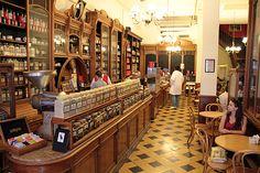 El Gato Negro - Tradicional y emblemática tienda de tés, cafés y especias de Buenos Aires.