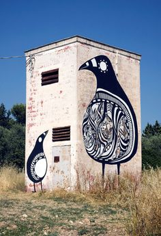 Title :Street Art By Lucy Mclauchlan - Grottaglie (Italy)                                                                                                                                                                                                                 Added :                                         Sep 2009                                                                                                                                           Po