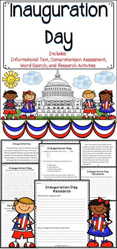 Celebrate Inauguration Day with these fun and engaging classroom activities. Students will learn about the history and traditions of this important day.