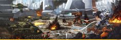 Imperial Knight :: Imperium :: Warhammer 40000 :: сообщество фанатов / красивые картинки и арты, гифки, прикольные комиксы, интересные статьи по теме.