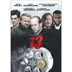 Rent 13 starring Sam Riley and Alice Barrett on DVD and Blu-ray. Get unlimited DVD Movies & TV Shows delivered to your door with no late fees, ever. One month free trial! Movie List, Movie Tv, Sick Movie, Movies To Watch, Good Movies, Underworld Games, Ray Winstone, Ray Liotta, Actor