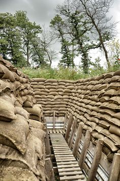 Trenches, Zonnebeke by Battlefield Historian, via Flickr