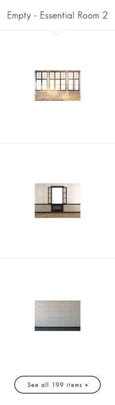 """Empty - Essential Room 2"" by selene-cinzia ❤ liked on Polyvore featuring rooms, backgrounds, empty room, home, art, empty rooms, wallpaper, detail, embellishment and interior"