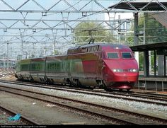 RailPictures.Net Photo: 4538 Nederlandse Spoorwegen Thalys at Dordrecht, Netherlands by J.van Heteren