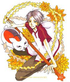 Tags: Anime, Natsume Yuujinchou, Nyanko-sensei, Natsume Takashi, Madara