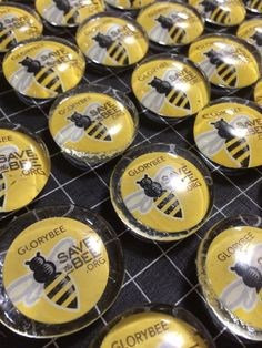 e5c94c099b33 Hand-Made Save The Bee Magnets  savethebee  glorybee Save The Bees