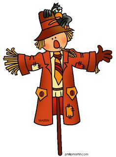 Free Occupations Clip Art by Phillip Martin, Scarecrow