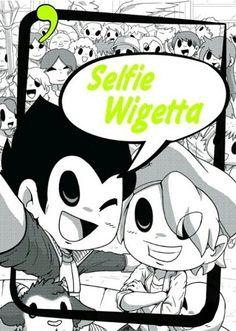 Selfie Wigetta! :D Karma, Fanart, Cartoon Tv Shows, Kirito, Dragon Ball, Kawaii, Geek Stuff, Entertaining, Selfie
