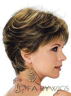 short hair styles for women over 50 gray hair Hair Styles For Women Over 50, Short Hair Cuts For Women, Short Hairstyles For Women, Medium Hair Styles, Curly Hair Styles, Wedge Hairstyles, Hairstyles Haircuts, Short Haircuts, Asian Hair Wig