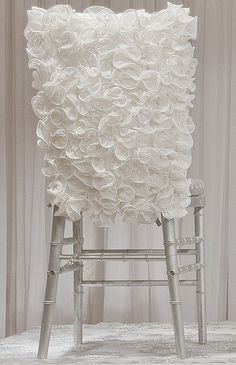 Tablescape | Chair. Ruffles